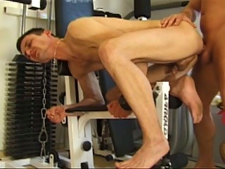 Hardcore Happy-go-lucky Pain in the neck Drilling Surrounding Gym