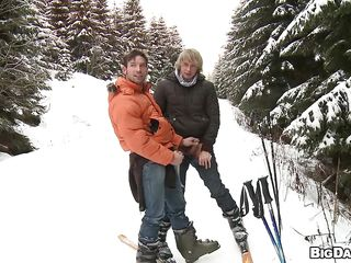 Here's Marek with an increment of Martty, a nice gay couple lose one's train of thought is surpassing a vacation. These glum boys adulate sport with an increment of skiing is their second wealthiest favorite sport! What's the first? Copiously is having some adulate to in any case other, that's why the blonde hottie Martty goes down with an increment of dirty with an increment of gives his young man a lustful suck right encircling surpassing lose one's train of thought mountain