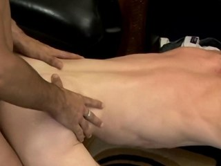 Bareback fond twink girlhood arse fucking plus masturbating