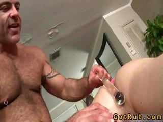 Tattooed hunk gets anus stuffed part5