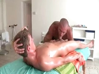 Sexy Guy Gets Oiled Up And Prepped For Blissful Massage 3 At the end of one's tether GotRub
