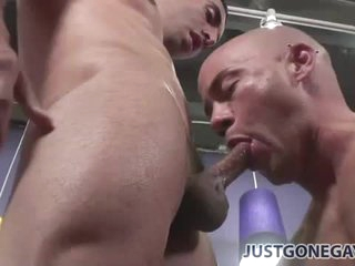 The hot anal studs are earn fucking and cumming