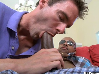 His nasty brashness has some playful tongue! That mendicant is satisfied!