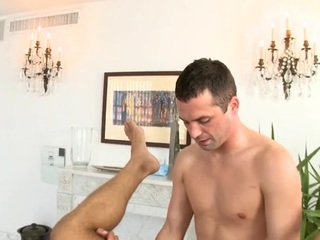 Hunk gets lusty anal drilling at near palpate